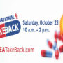 Poster for the 21st National Prescription Drug Take Back Day